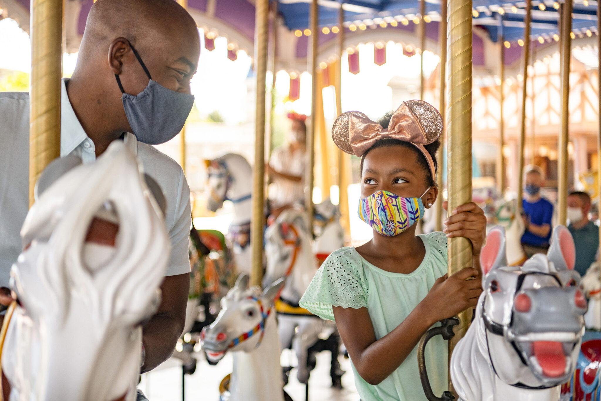 Walt Disney World Resort face coverings