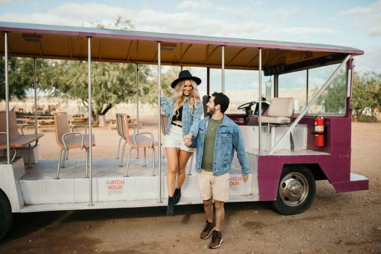 camel safari ranch tram tour
