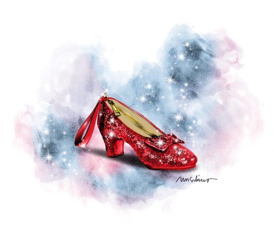 Ruby Slipper purse