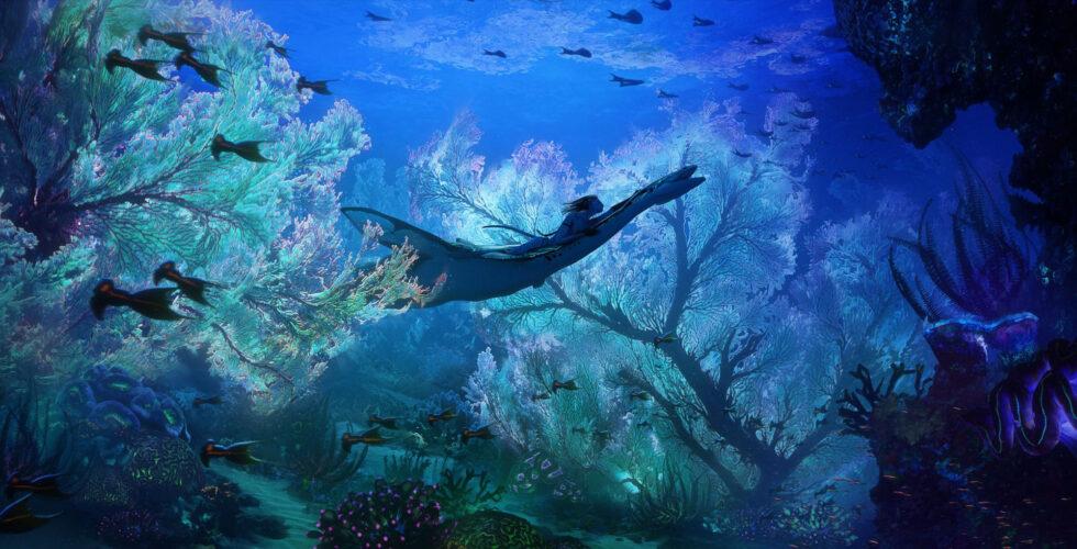 """""""Avatar 2"""" concept art reveals new look at Pandora."""