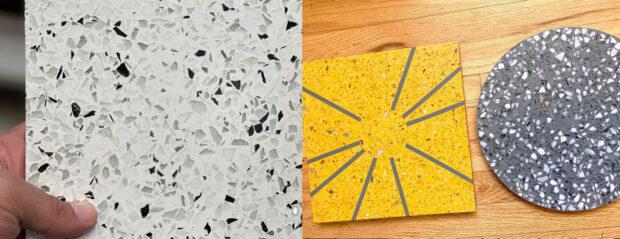 Custom terrazzo flooring designed by Walt Disney Imagineering. - World Celebration