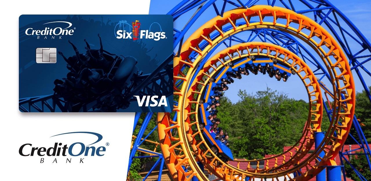 Credit One Bank Six Flags Rewards Visa