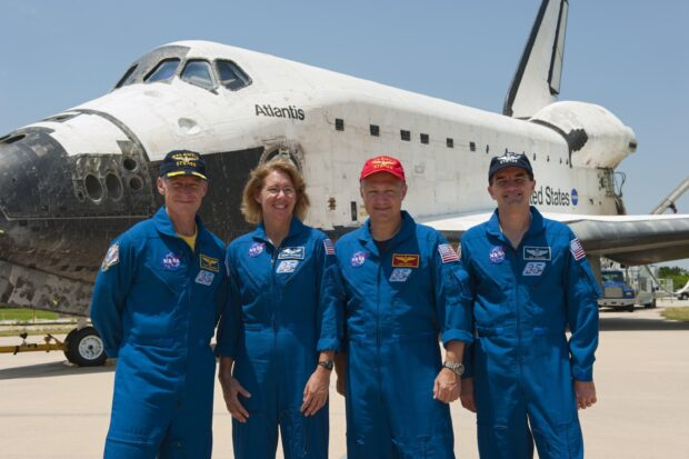 Crew of Atlantis STS-135