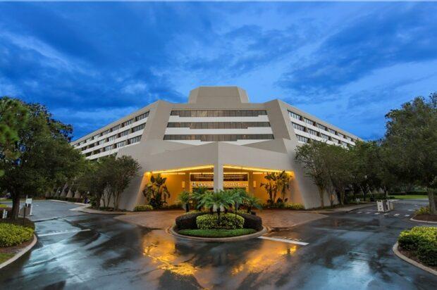 Disney SPrings Resort Area Hotels - Doubletree Suites