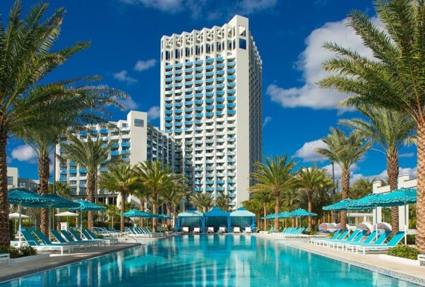 Disney Springs Resort Area Hotels - Hilton Lake Buena Vista Palace
