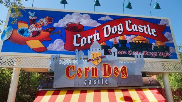 Disneyland Dining - Corn Dog Castle