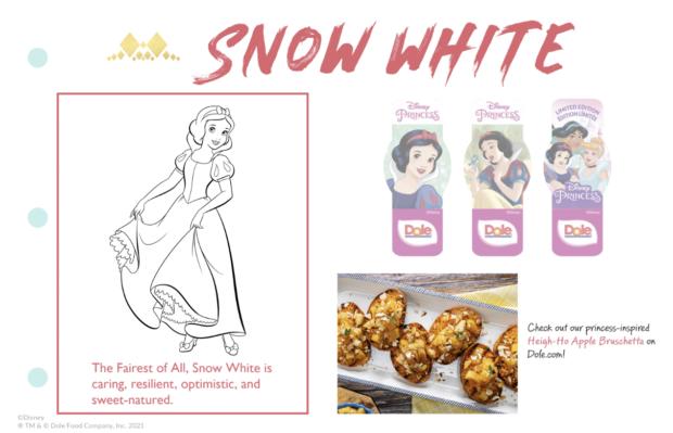 Dole Disney Princess Sticker Book - Snow White