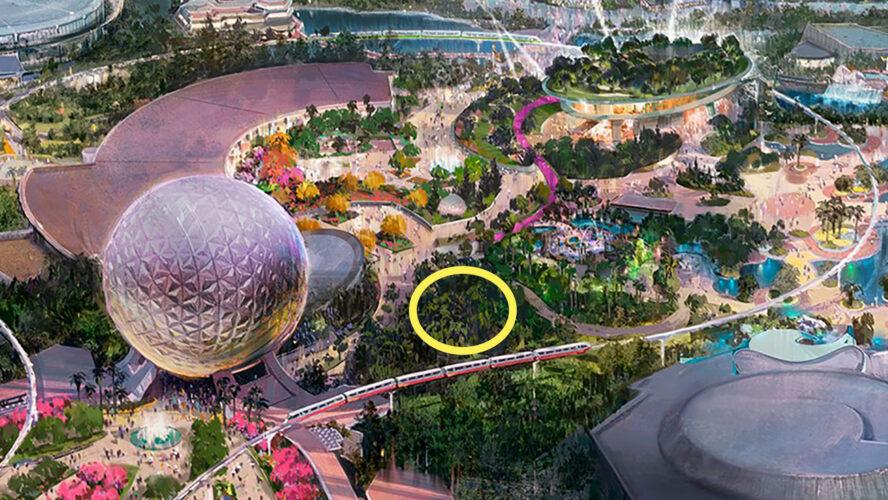 Concept art of Epcot's new World Celebration area.