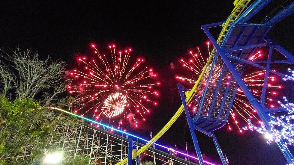 Fun Spot America fireworks