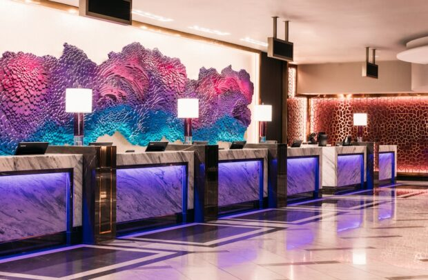 Harrah's Las Vegas Lobby