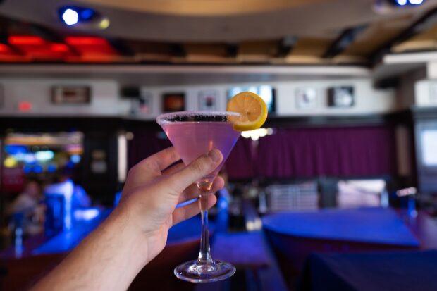 Harrah's Las Vegas Lavender Martini