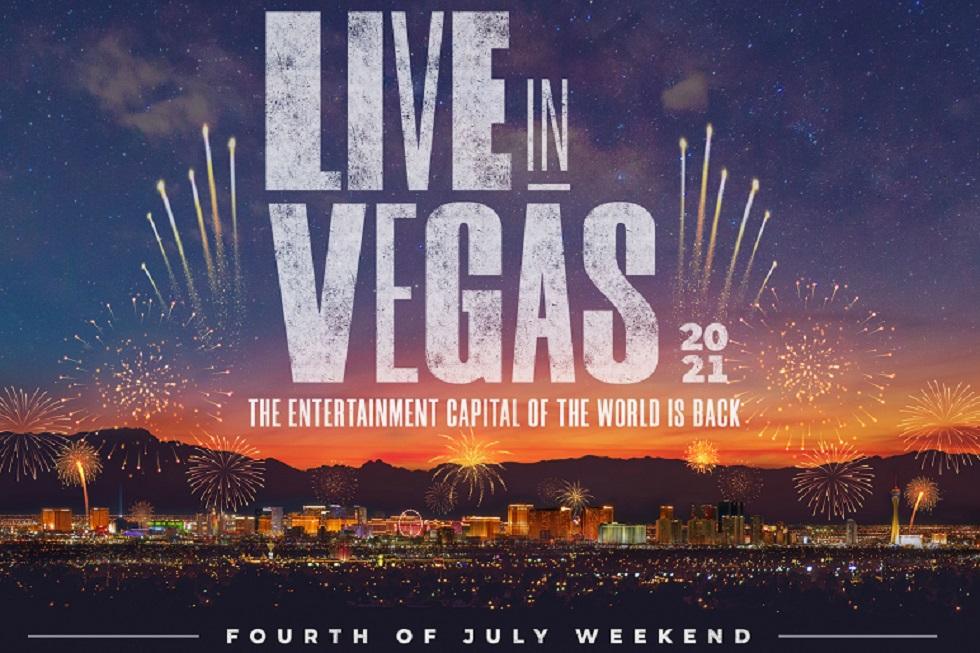 Las Vegas is back banner