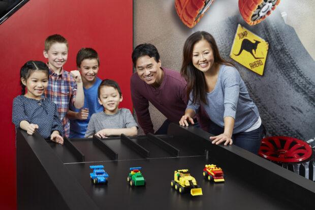 Legoland Discovery Center Bay Area - Lego Racers