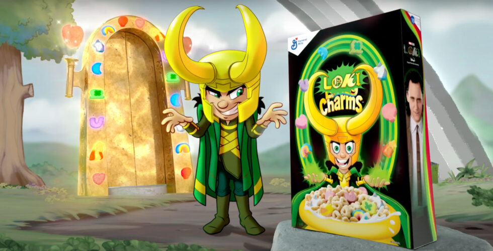 Lucky Charm's Marvel takeover with limited edition Loki Charms.