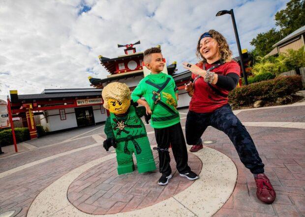 Legoland Florida Lego Ninjago Days character