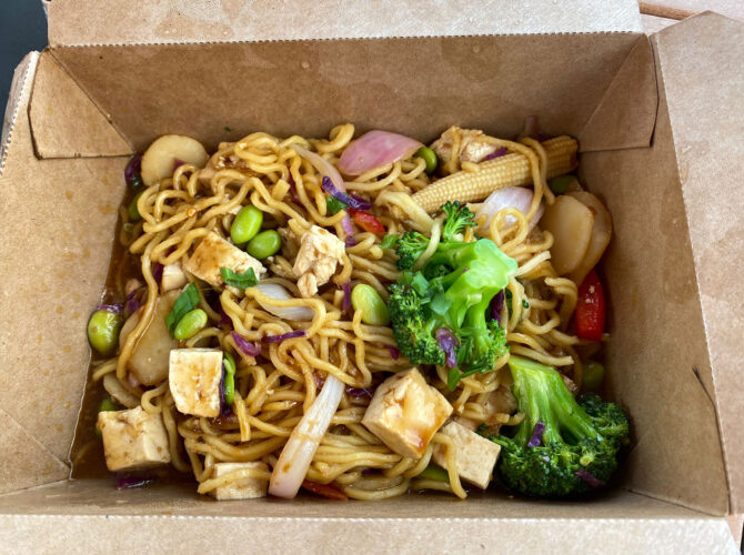 Captain Cook's noodle option is the closest you can currently get to Disney's 'Ohana restaurant.