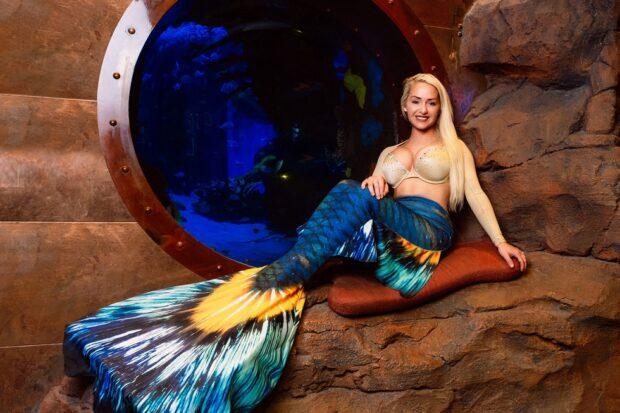SIlverton Casino Hotel mermaid