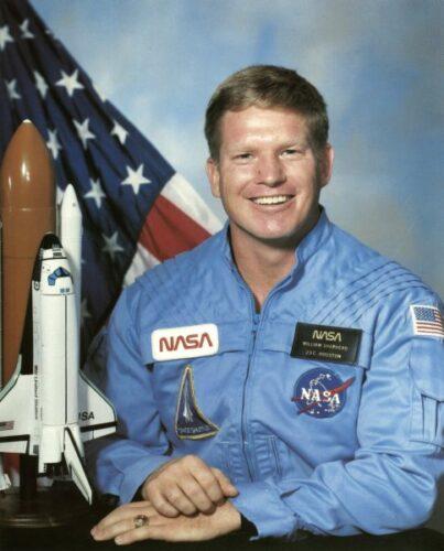 William Shepherd NASA