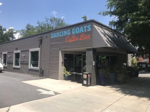 love simon Dancing Goats Coffee Car shooting location