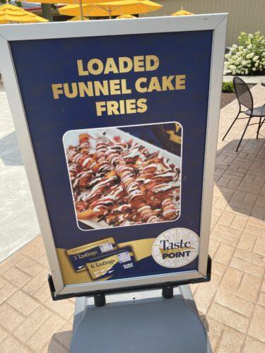 loaded funnel cake fries