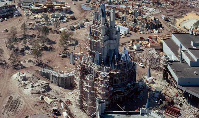Destination D23 - Walt Disney World construction