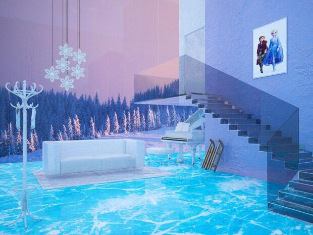 Elsa's Frozen home makeover