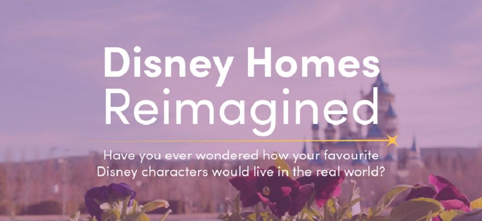 Disney Princesses Home Makeover