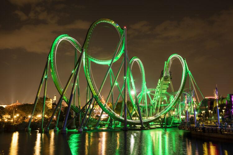 Incredible Hulk Coaster - Universal Orlando Resort