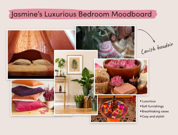 Disney Princesses Home Makeover Jasmine moodboard