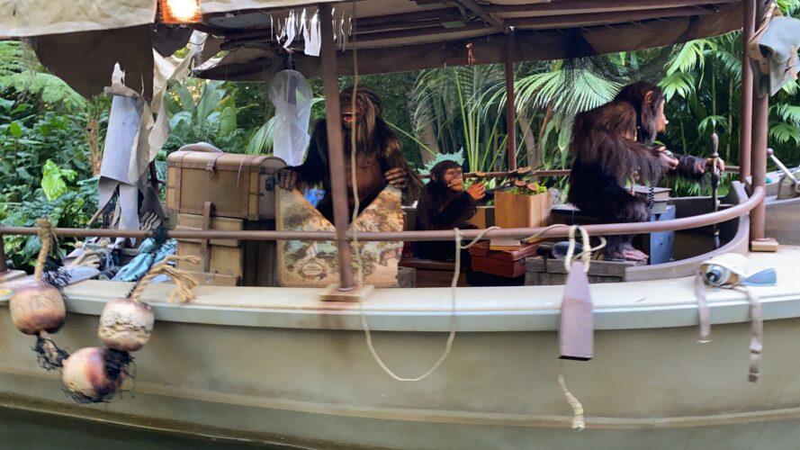 Jungle Cruise Monkey with map