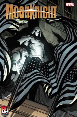 Marvel Moon Knight Captain America Variant Cover