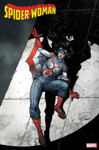 Marvel Spider-Woman Captain America Variant Cover