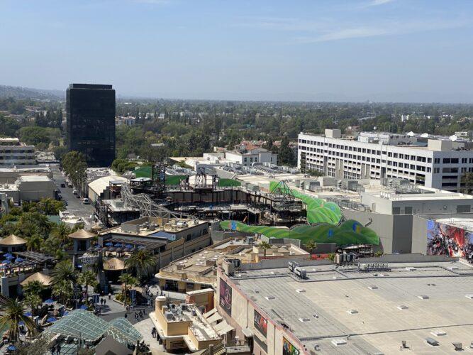 Universal Studios Hollywood lower lot