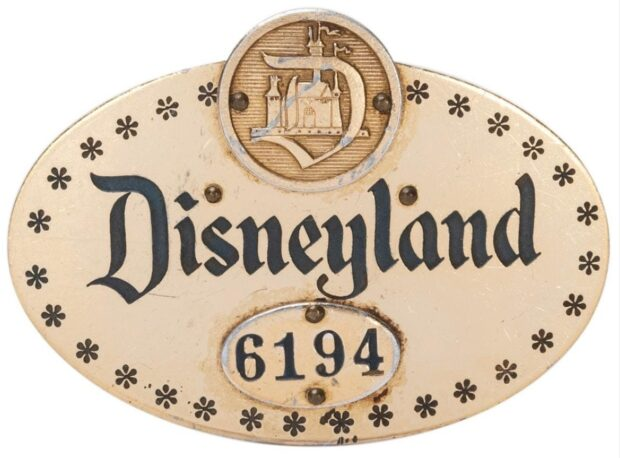 Disney Auction - Cast Member pin