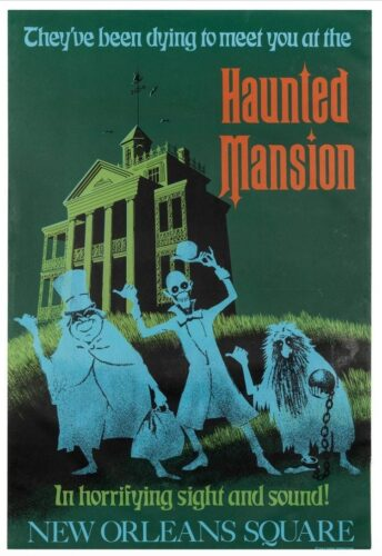 Disney Auction - Haunted Mansion poster