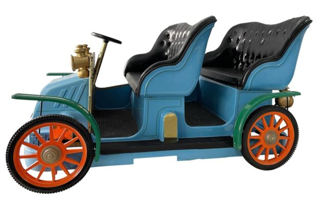 Disney Auction - Mr. Toad Wild Ride vehicle