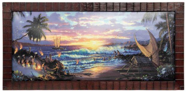 WDW Polynesian Resort painting