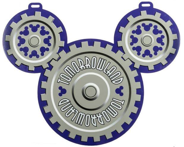 Disney Auction - Tomorrowland sign