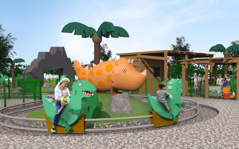 grampy rabbit's dinosaur adventure