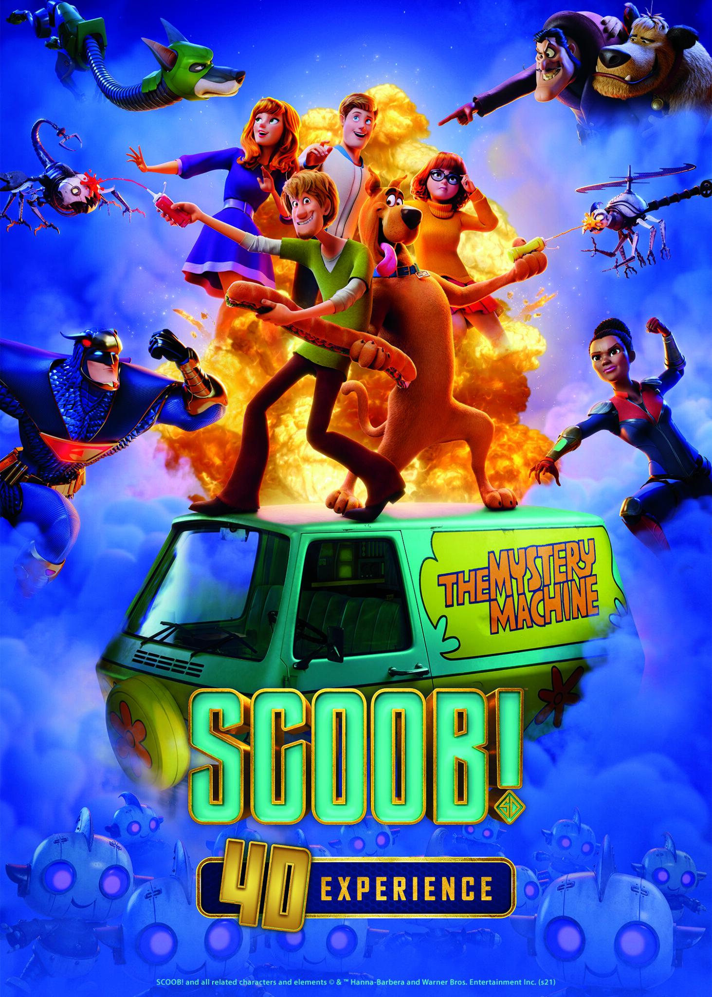 Scoob! 4D