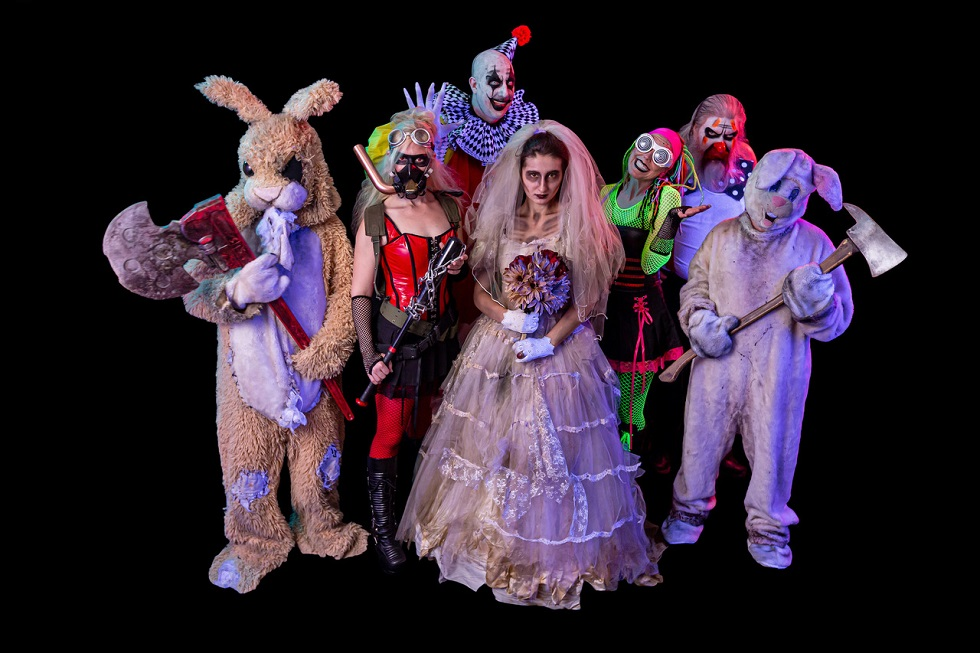 ScareHouse haunted house characters