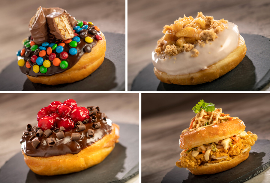 the donut box