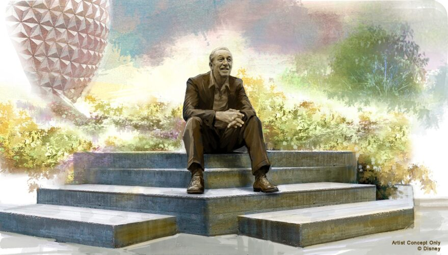 Dreamer's Point Walt Disney Statue at Epcot.