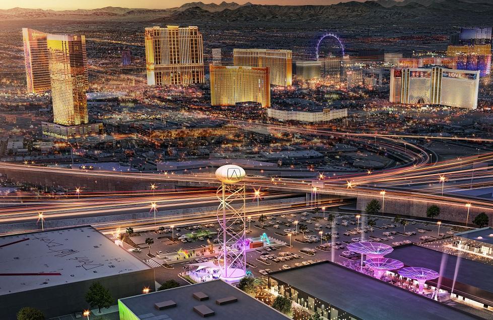 Area15 Las Vegas view
