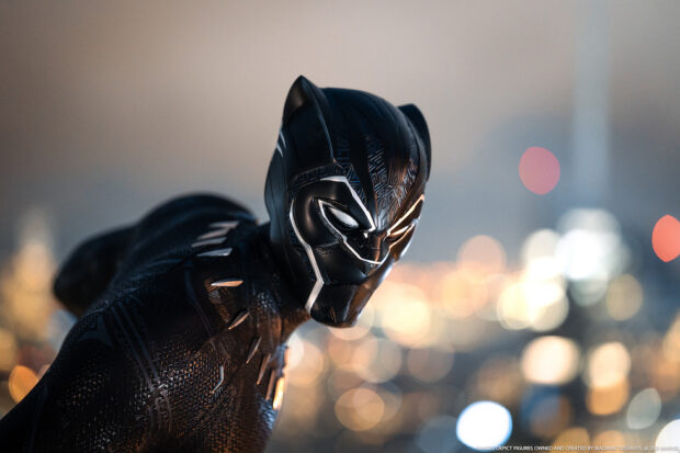 Black Panther suit detail