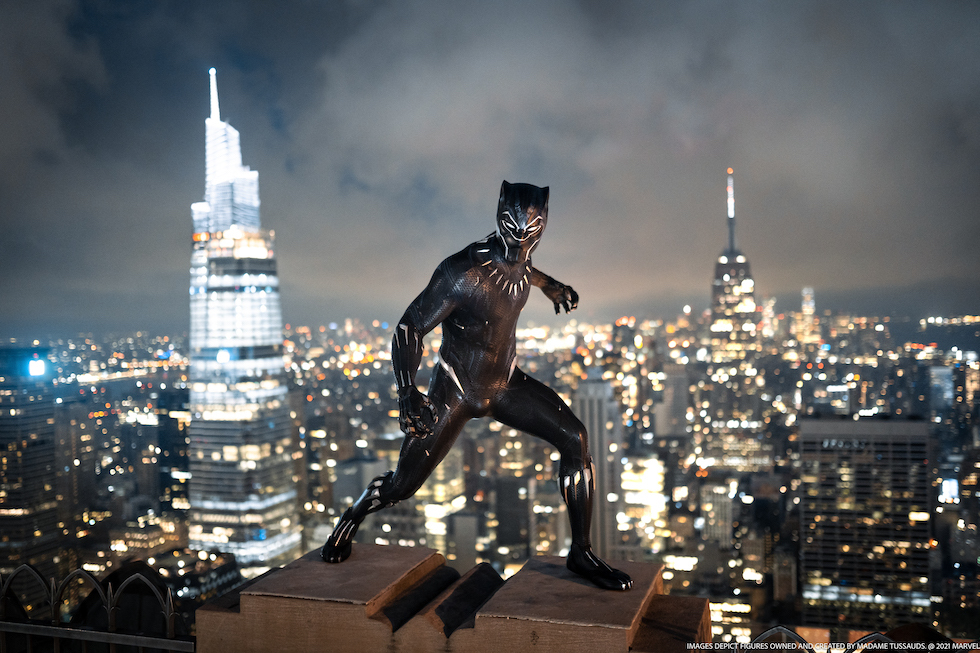 Black Panther Madame Tussauds New York