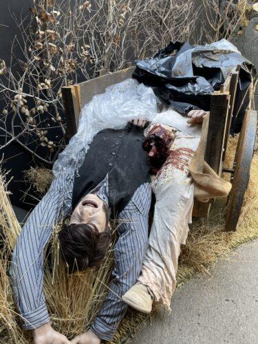 halloween horror nights hollywood - bride of frankenstein lives