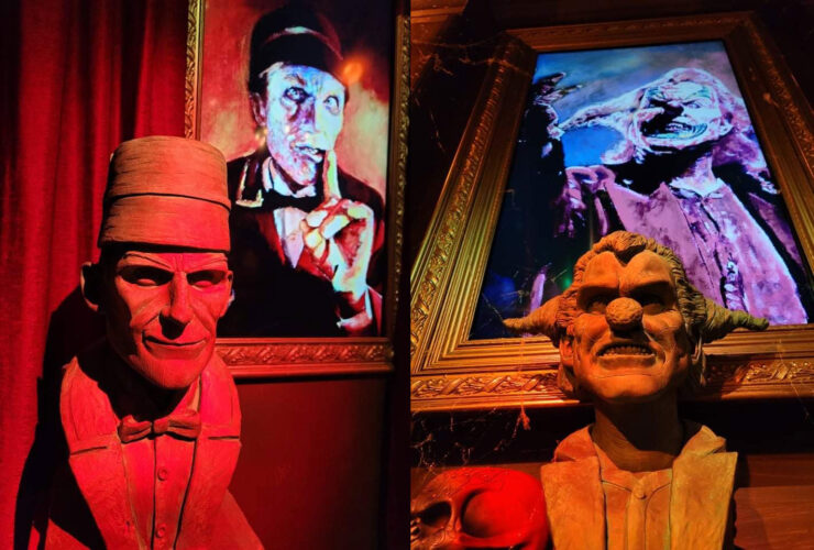 Jack and The Usher busts, with photos to match.