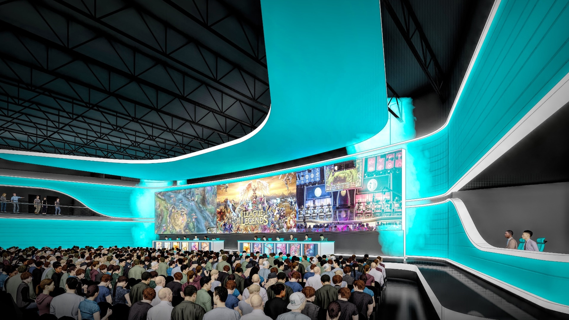Cedar Point eSports arena