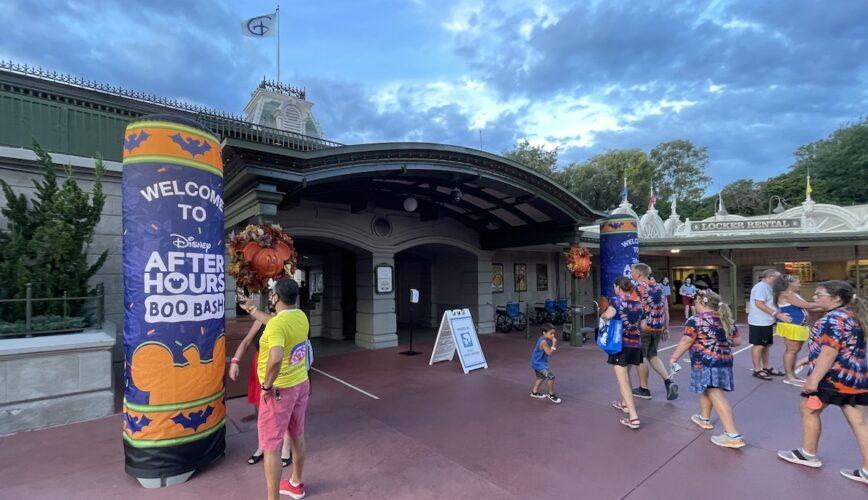 Boo Bash entrance to Magic Kingdom